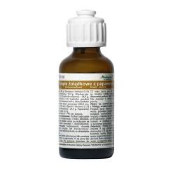 Krople żołądkowe z papaweryną, 35 ml, HERBAPOL