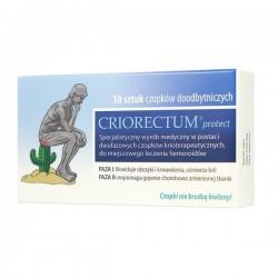 Criorectum Protect, 10 czopków doodbytniczych