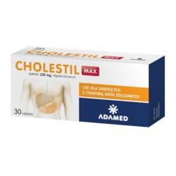 Cholestil Max tabl. 0,2 g 30 tabl.