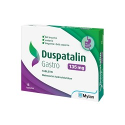 Duspatalin Gastro tabl. 0,135 g 15 tabl.