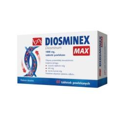 Diosminex Max tabl.powl. 1 g 60 tabl.