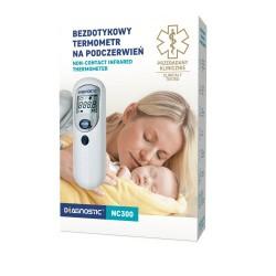 Diagnostic NC300, termometr bezdotykowy na podczerwień, 1 sztuka