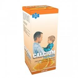 Calcium 115 mg/ 5 ml, smak pomarańczowy, syrop, 150 ml