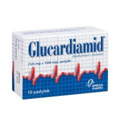 Glucardiamid pastyl.dossania x 10