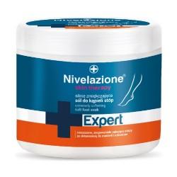Nivelazione Skin Therapy EXPERT, Silnie zmiękczająca sól do kąpieli stóp, 650g