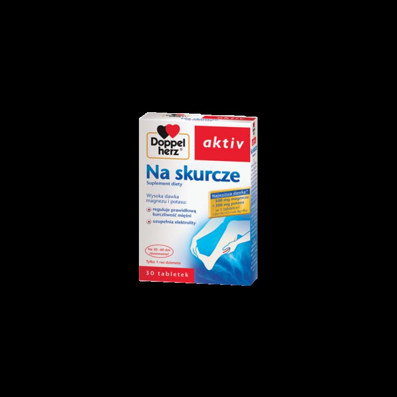 Doppelherz aktiv Na skurcze, 30 tabletek, QUEISSER