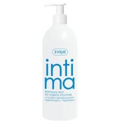 ZIAJA INTIMA  kremowy płyn do higieny intymnej z kwasem laktobionowym , 500 ml