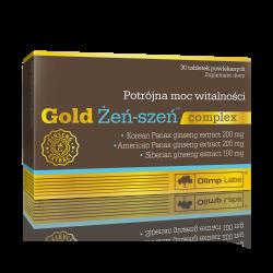 Gold Żeń-szeń complex, 30 tabletek powlekanych, Olimp Labs