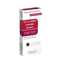 Test na krew utajoną w kale FOB test (Zdro