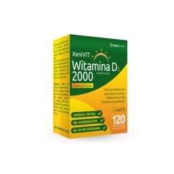 XeniVIT Witamina D 2000 kaps. 120kaps.(12b