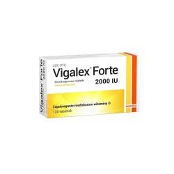 Vigalex Forte tabl. 2 000 I.U. 120 tabl.