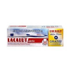 LACALUT AKTIV Pasta do zębów 75 ml+szczoteczka do zębów gratis, ZDROVIT