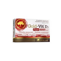 Olimp Gold-Vit D3 Fast 4000 j.m. tabl. 30t
