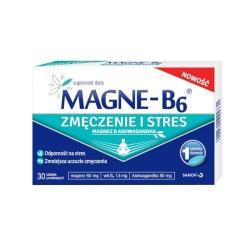 Magne-B6 Zmęczenie i Stres tabl.powl. 30ta