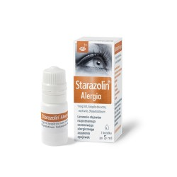 Starazolin Alergia, krople do oczu, roztwór 1mg, POLPHARMA