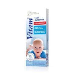Test ciążowy VITAM Strumieniowy -10 mlU/ml, DIAGNOSIS