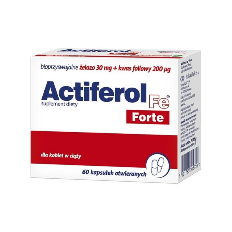 ActiFerol Fe Forte kaps. 60 kaps.