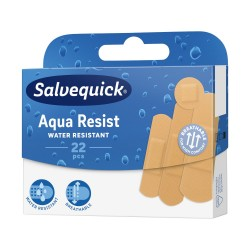 Plast.SALVEQUICK Aqua Resist 22 szt. 1op.