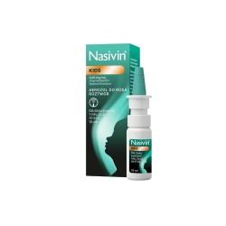 Nasivin Kids 0,025%, 0,25mg/ml, aerozol do nosa, dla dzieci od 1 do 6 lat, 10ml