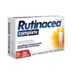 Rutinacea Complete, 120 (90 +30) tabletek, Aflofarm