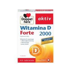 Doppelherz aktiv Wit. D Forte 2000 45tabl