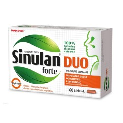 Sinulan Duo Forte tabl.powl. 0,45g 60tabl.