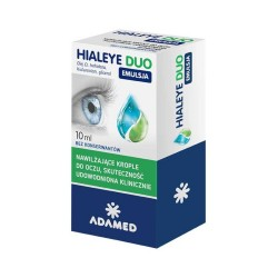 Hialeye Duo Emulsja krop.do oczu 10 ml