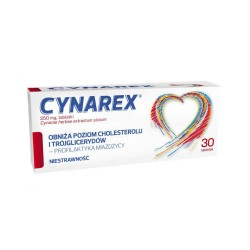 Cynarex tabl. 0,25 g 30 tabl.