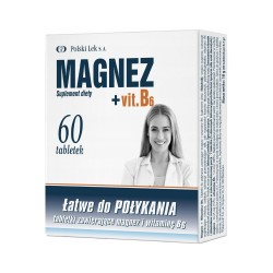 Magnez +Vit.B6, 60...