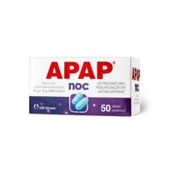 Apap Noc, 500 mg + 25 mg,...