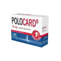 Polocard, 75mg, 120 tabletek