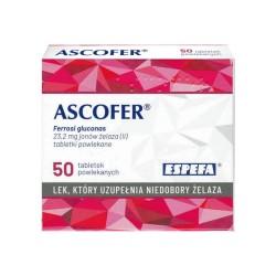 Ascofer, tabletki...