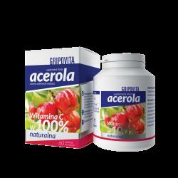 Acerola Gripovita, 60 tabletek do ssania, Zdrovit