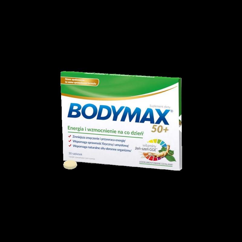 Bodymax 50+, 30 tabletek, ORKLA