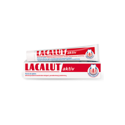 LACALUT Aktiv, pasta do zębów, przeciw paradontozie i próchnicy, 75 ml