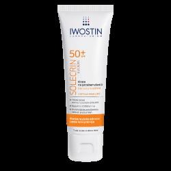 IWOSTIN SOLECRIN LUCIDIN Krem na przebarwienia SPF 50+ 50ml