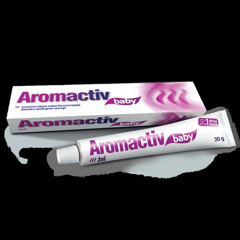 Aromactiv baby, żel od 1. dnia życia, 20 g, Aflofarm