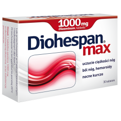 Diohespan Max, 1000 mg, 30 tabletek, Aflofarm