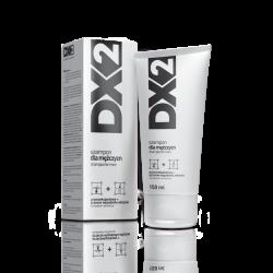 DX2 Szampon dla mężczyzn, przeciwłupieżowy oraz przeciw wypadaniu włosów, 150 ml, Aflofarm