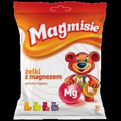 Magmisie, żelki z magnezem, 30 sztuk (135g), Aflofarm