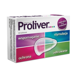 Proliver, 30 tabletek, Aflofarm