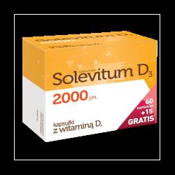 Solevitum D3, 2000 j.m., 75 kapsułek, Aflofarm