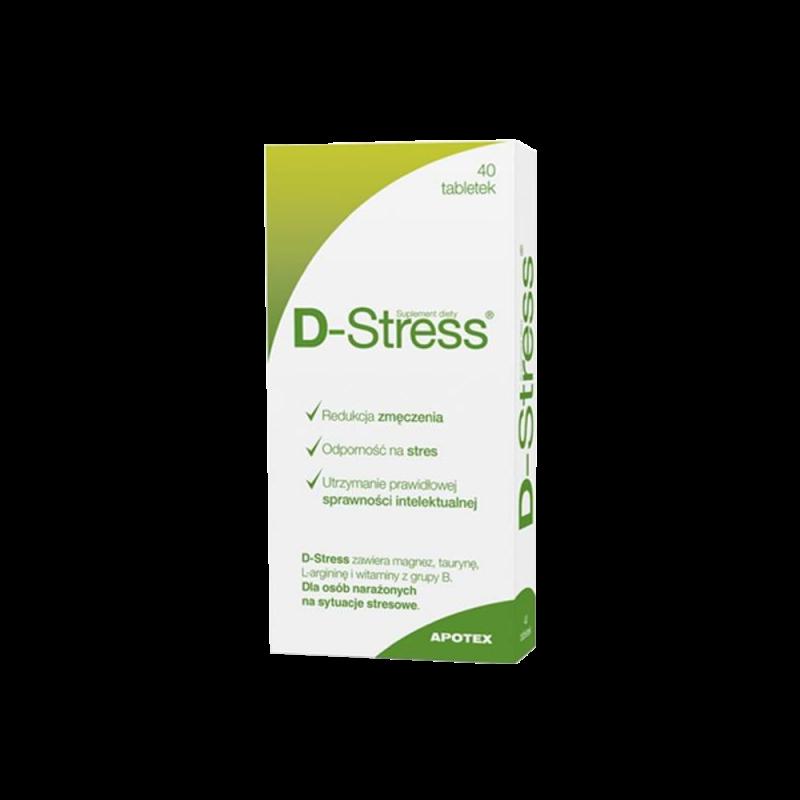 D-Stress, 40 tabletek, Apotex