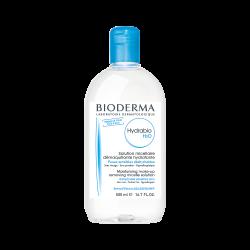 BIODERMA HYDRABIO H2O Płyn micelarny do oczyszczania twarzy i zmywania makijażu 500 ml+ 500 ml