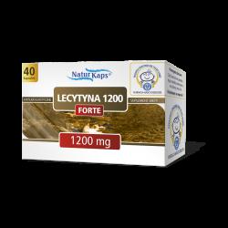 Naturkaps Lecytyna Forte 1200, 40 kapsułek, HASCO