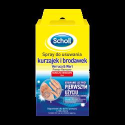 SCHOLL Spray do usuwania kurzajek i brodawek 80 ml