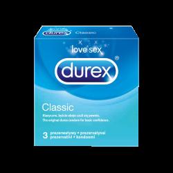 Prezerwatywy DUREX Classic 3 sztuki , Reckitt