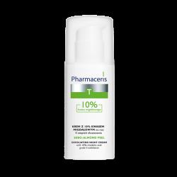 PHARMACERIS T SEBO-ALMOND PEEL Krem z 10% kwasem migdałowym na noc 50 ml