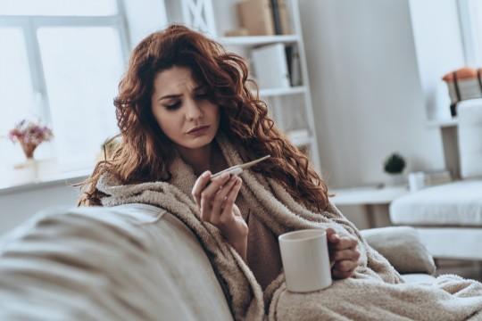 Gorączka - domowe sposoby na obniżenie temperatury